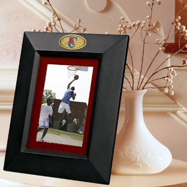 Los Angeles Clippers BLACK Portrait Picture Frame