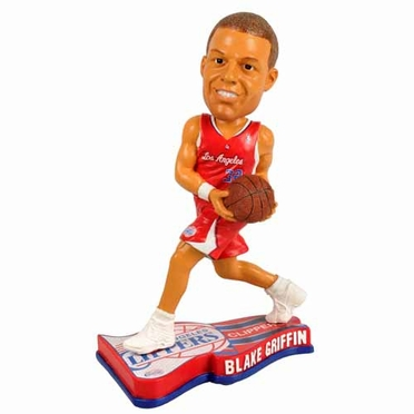 Los Angeles Clippers Blake Griffin 2013 Pennant Base Bobblehead Figurine