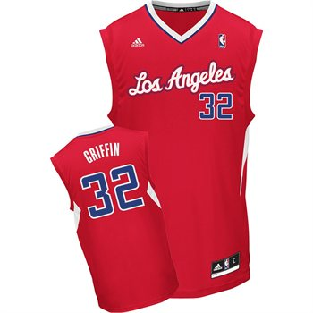 Los Angeles Clippers Blake Griffin Team Color Revolution Replica Jersey