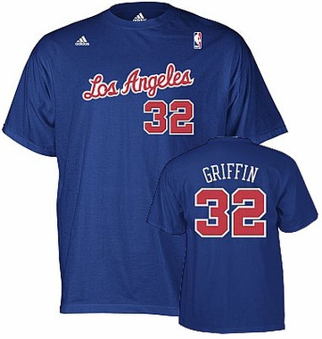 Los Angeles Clippers Blake Griffin YOUTH Name and Number T-Shirt
