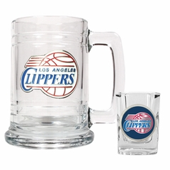 Los Angeles Clippers Boilermaker Set
