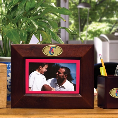 Los Angeles Clippers BROWN Landscape Picture Frame