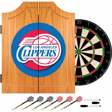 Los Angeles Clippers Complete Dart Cabinet