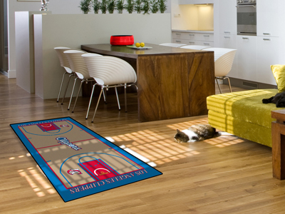 Los Angeles Clippers Court Runner Rug