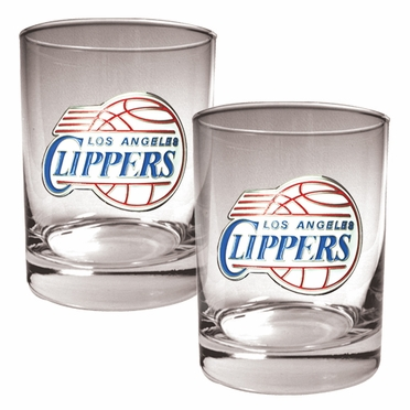 Los Angeles Clippers Double Rocks Set