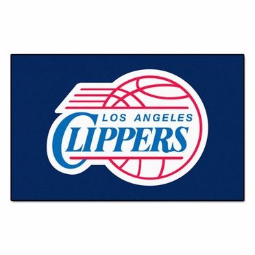 Los Angeles Clippers Economy 5 Foot x 8 Foot Mat