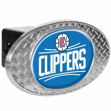 Los Angeles Clippers Metal Diamond Plate Trailer Hitch Cover