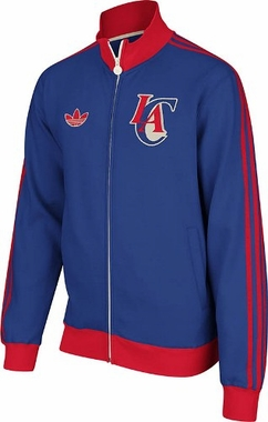 Los Angeles Clippers NBA Classics Fleece Track Jacket