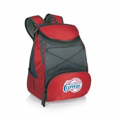 Los Angeles Clippers PTX Backpack Cooler (Red)