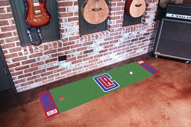 Los Angeles Clippers Putting Green Mat