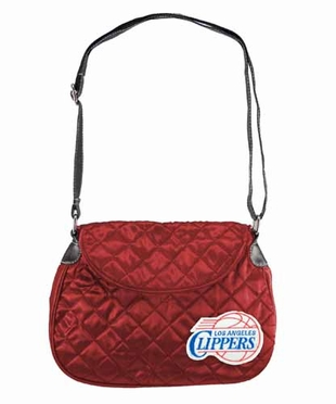 Los Angeles Clippers Quilted Saddlebag