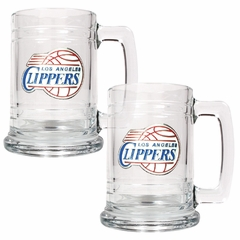 Los Angeles Clippers Set of 2 15 oz. Tankards