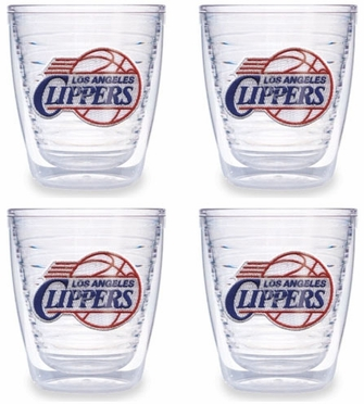 Los Angeles Clippers Set of FOUR 12 oz. Tervis Tumblers