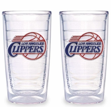 Los Angeles Clippers Set of TWO 16 oz. Tervis Tumblers