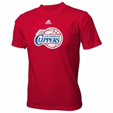 Los Angeles Clippers YOUTH Adidas NBA Team Logo Red T-Shirt