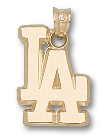 Los Angeles Dodgers 10K Gold Pendant