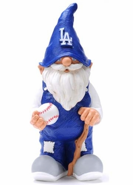 Los Angeles Dodgers 11 Inch Garden Gnome