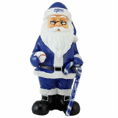 Los Angeles Dodgers 11 Inch Resin Team Santa Figurine