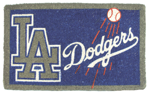 Los Angeles Dodgers 18x30 Bleached Welcome Mat