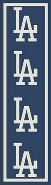"Los Angeles Dodgers 2'1"" x 7'8"" Premium Runner Rug"