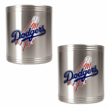 Los Angeles Dodgers 2 Can Holder Set