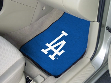 Los Angeles Dodgers 2 Piece Car Mats