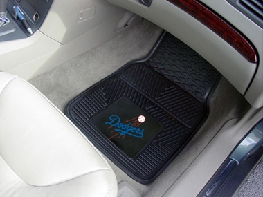 Los Angeles Dodgers 2 Piece Heavy Duty Vinyl Car Mats