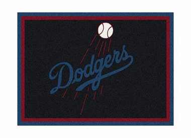 "Los Angeles Dodgers 3'10"" x 5'4"" Premium Spirit Rug"