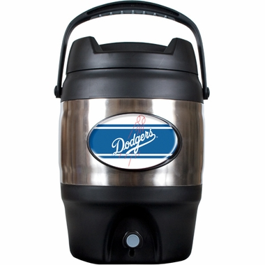 Los Angeles Dodgers 3 Gallon Stainless Steel Jug