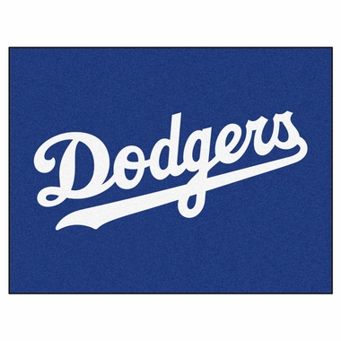 Los Angeles Dodgers 34 x 45 Rug