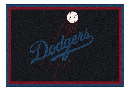 "Los Angeles Dodgers 5'4"" x 7'8"" Premium Spirit Rug"