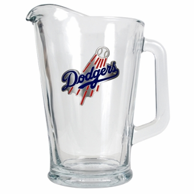 Los Angeles Dodgers 60 oz Glass Pitcher