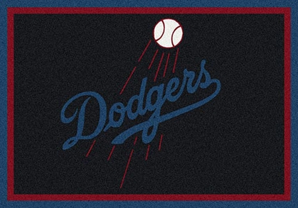 "Los Angeles Dodgers 7'8"" x 10'9"" Premium Spirit Rug"