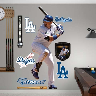 Los Angeles Dodgers Adrian Gonzalez Fathead Wall Graphic