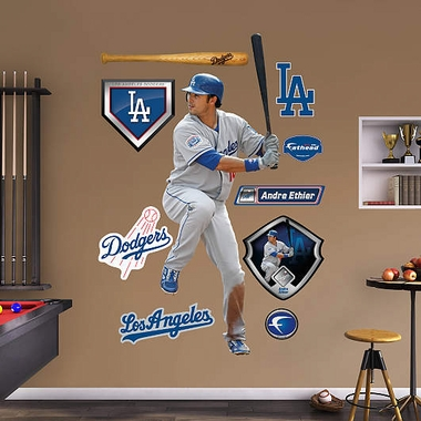 Los Angeles Dodgers Andre Ethier Fathead Wall Graphic