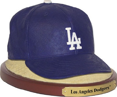 Los Angeles Dodgers Ball Cap Figurine