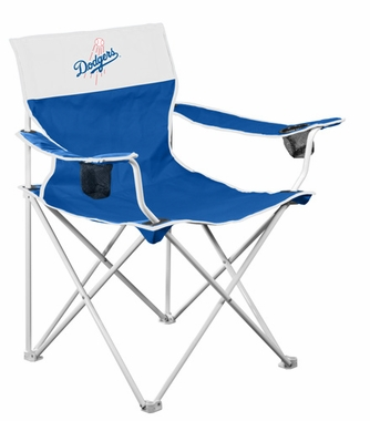 Los Angeles Dodgers Big Boy Adult Folding Logo Chair
