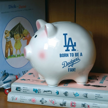Los Angeles Dodgers (Born to Be) Piggy Bank