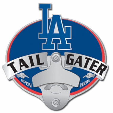 Los Angeles Dodgers Bottle Opener Hitch Cover