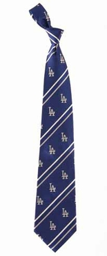 Los Angeles Dodgers Cambridge Woven Silk Necktie