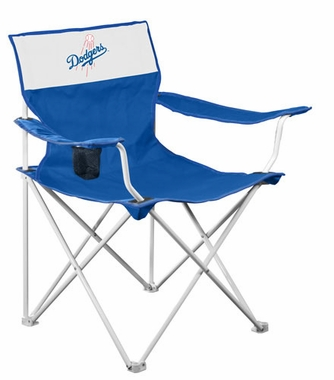 Los Angeles Dodgers Canvas Adult Folding Logo Chair