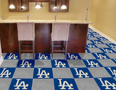 Los Angeles Dodgers Carpet Tiles