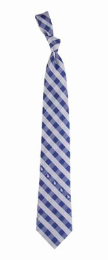 Los Angeles Dodgers Check Poly Necktie
