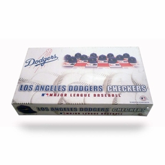 Los Angeles Dodgers Checkers Set