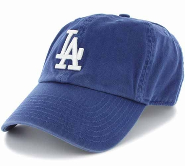 Los Angeles Dodgers Clean Up Adjustable Hat - Royal