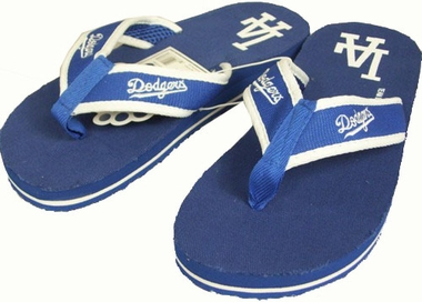 Los Angeles Dodgers Contoured Flip Flop Sandals