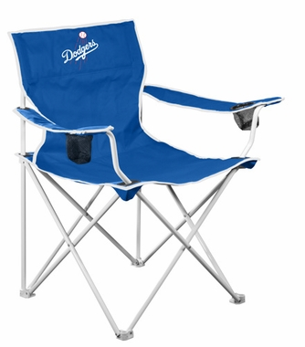 Los Angeles Dodgers Deluxe Adult Folding Logo Chair