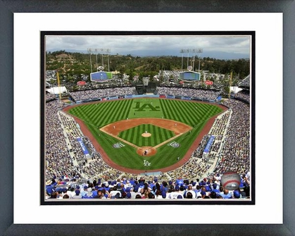 Los Angeles Dodgers Dodger Stadium 2013 16x20 Framed and Double-Matted Photo