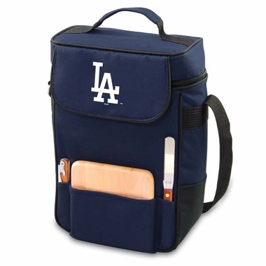 Los Angeles Dodgers Duet Compact Picnic Tote (Navy)