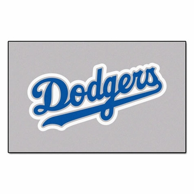 Los Angeles Dodgers Economy 5 Foot x 8 Foot Mat